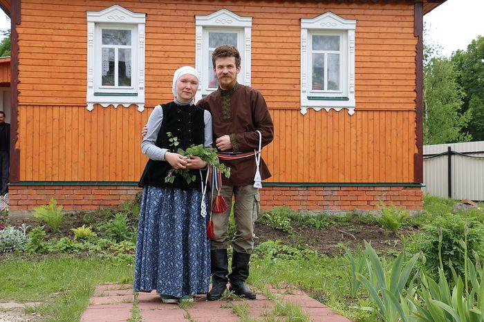 Анна Козлова с супругом