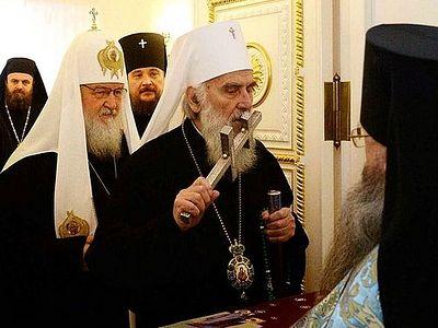 Сербская Православная Церковь не имеет косовских границ