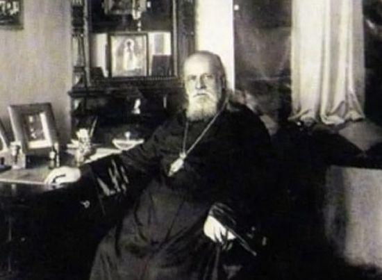Митрополит Серафим Чичагов.