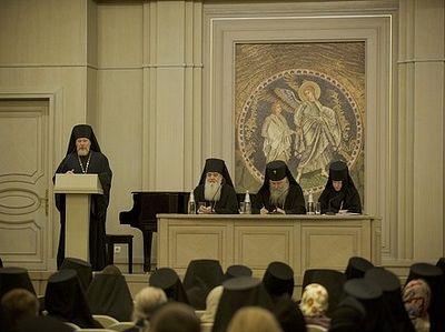 В Сретенском монастыре состоялось собрание епархиальных ответственных за монастыри