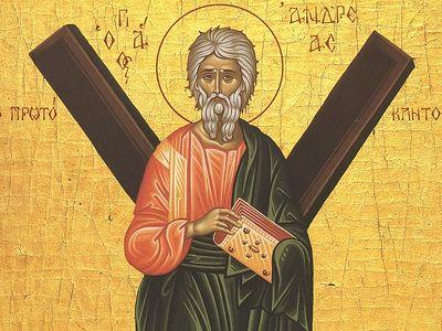 Всенощное бдение в Сретенском монастыре накануне дня памяти апостола Андрея Первозванного