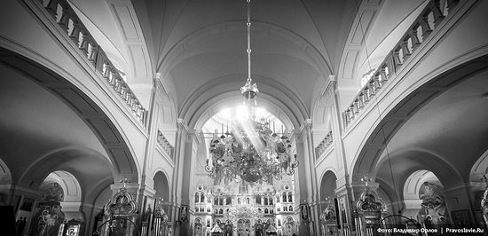 Внутреннее убранство собора Андрея Первозванного