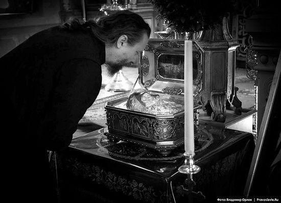 Ковчег с частью главы Апостола Андрея – главная святыня обители