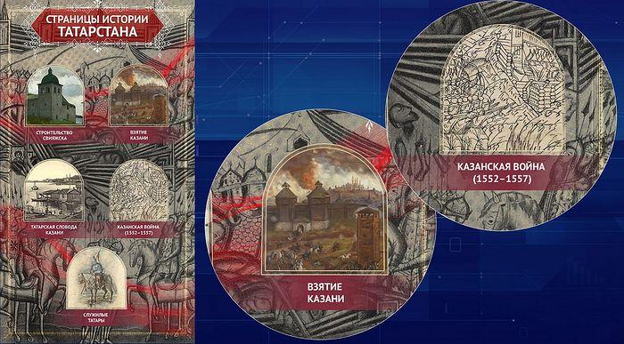 Фрагмент экспозиции исторических парков «Россия – Моя история» в Казани