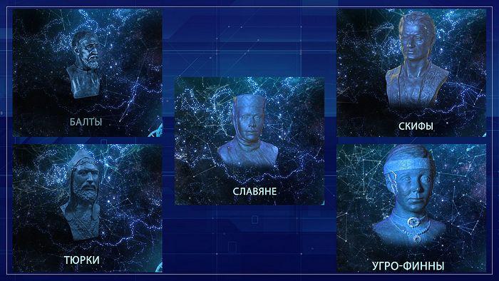 Фрагмент экспозиции исторических парков «Россия – Моя история»