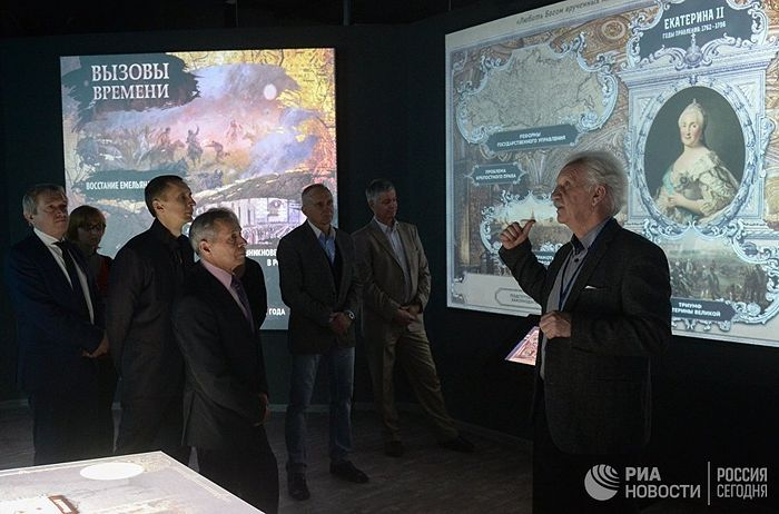 Открытие мультимедийного парка Россия - моя история в Новосибирске. Архивное фото © РИА Новости / Александр Кряжев