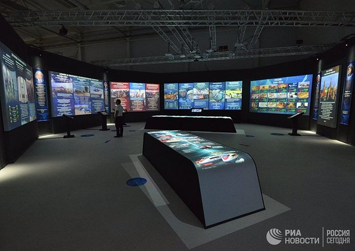 Открытие музейно-выставочного комплекса «Россия. Моя история» © РИА Новости / Дмитрий Степанов