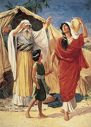 Изгнание Измаила и его матери