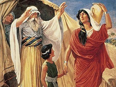 «И Бог открыл глаза ее, и она увидела колодезь с водою живою»