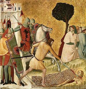 Мученичество святой Коломбы