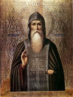 St. Nil of Stolobensk. Commemorated December 7/20, May 27/June 9.
