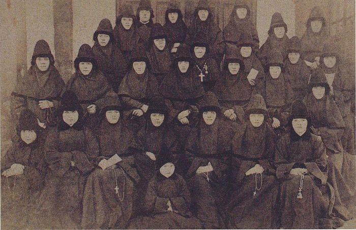 Насельницы монастыря Рождества Богородицы накануне 1917 года
