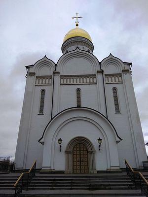 Спасский храм в Усово