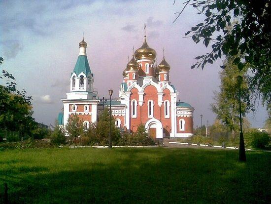 Храм Ильи Пророка в Комсомольске-на-Амуре