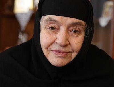Геронтисса Феодосия: «Игумения должна быть для сестер настоящей мамой»