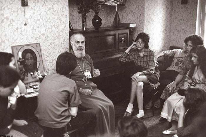Беседа митрополита Антония Блума с детьми