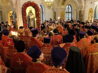 День памяти сщмч. Илариона в Сретенском монастыре
