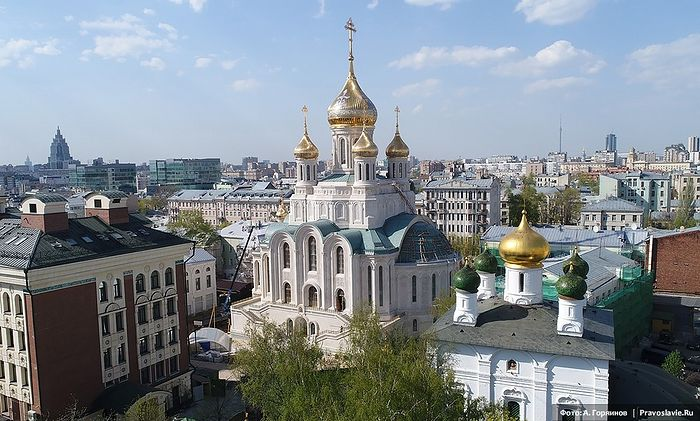 The Church of the Resurrection of Christ and the New Martyrs and Confessors of the Russian Church in Sretensky Monastery