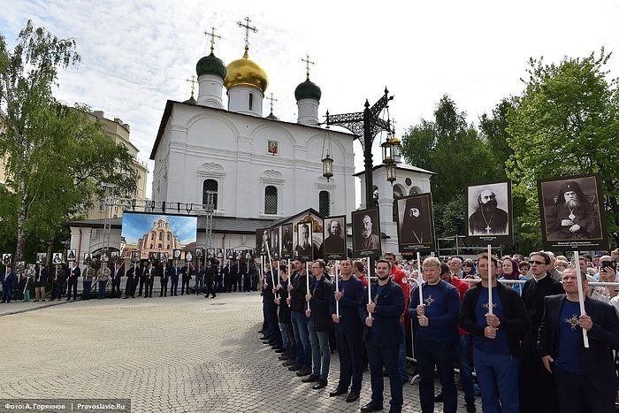 Great Consecration of the Church of the Resurrection of Christ and the New Martyrs and Confessors of the Russian Church in Sretensky Monastery. Photo: G.Balayants / Pravoslavie.ru