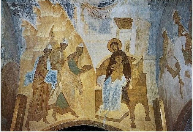 Dionisius. The Adoration of the Magi. Photo: foma.ru