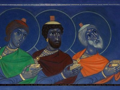 Часы навечерия Рождества Христова в Сретенском монастыре