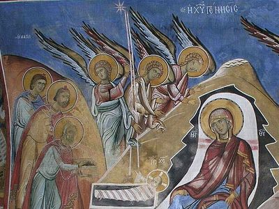 Не только в Вифлееме пели ангелы