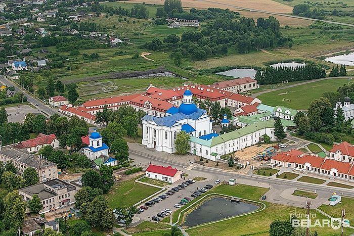 Свято-Успенский мужской монастырь в Жировичах. Современный вид