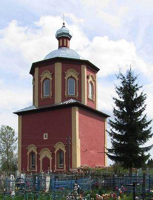 Озерец. Церковь Троицы Живоначальной