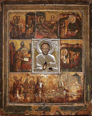Великорецкая икона святителя Николая Чудотворца