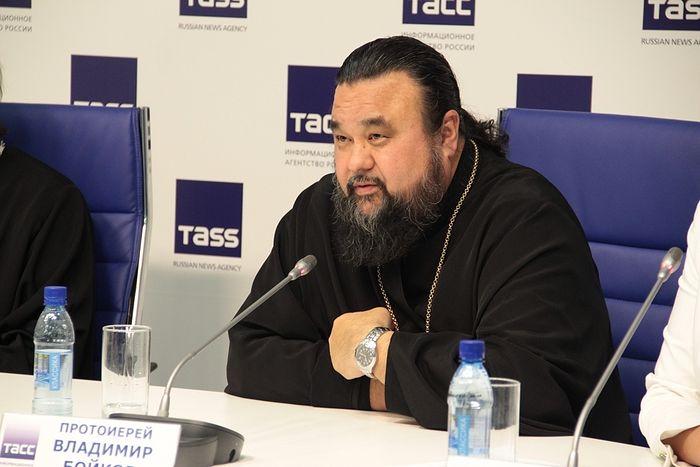 Священник Владимир Бойков