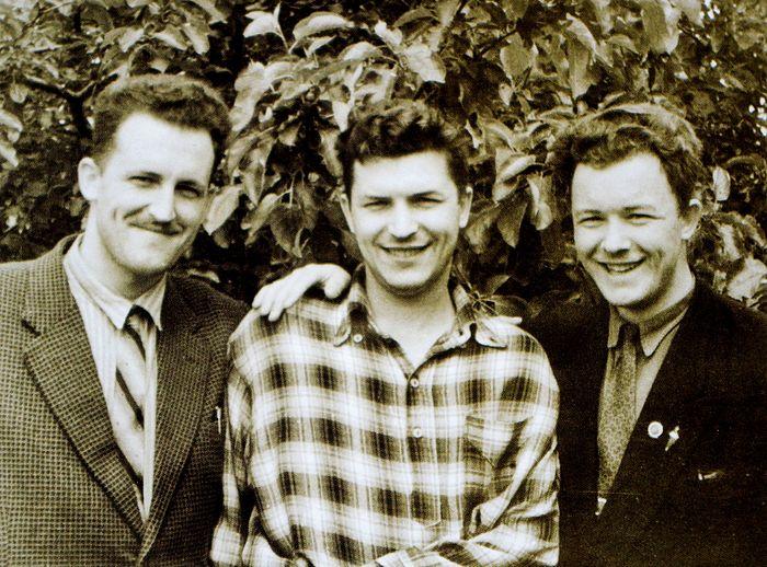 Братья Кречетовы (слева направо) – Николай, Петр, Валериан