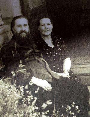 Родители протоиерей Михаил и матушка Любовь Владимировна Кречетовы