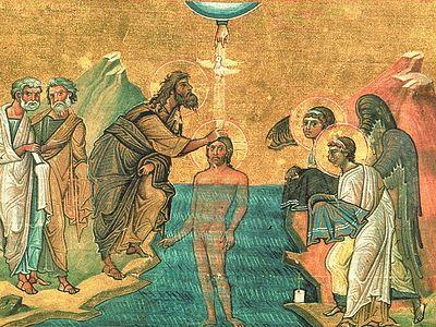 Всенощное бдение в Сретенском монастыре накануне Богоявления