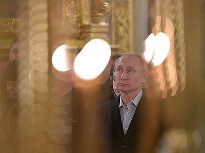 Владимир Путин посетил мужской монастырь Нило-Столобенская пустынь