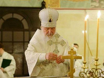 Патриарх Кирилл: Господь сильнее всякого человеческого и диавольского зла