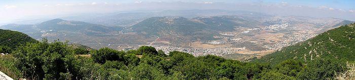 Galilee. Photo: Wikimedia commons.