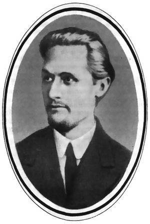 В.И. Соловьев, в конце 1917 года комиссар Московского Военно-революционного комитета, после революции — член Президиума Моссовета