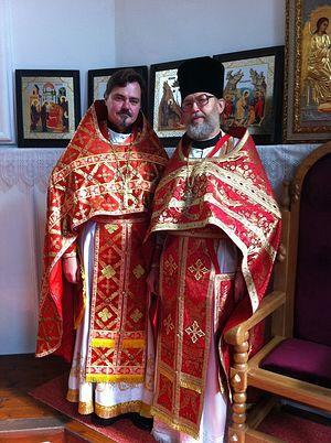 С протоиереем Павлом Патриным