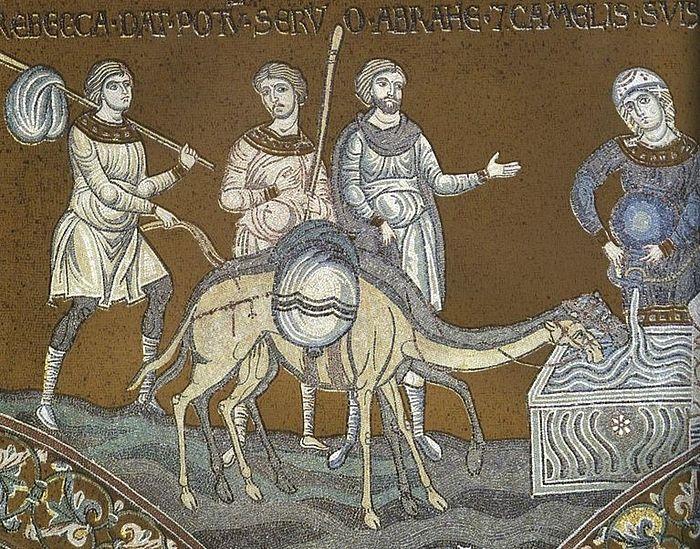 Мозаика собора Монреале, Сицилия