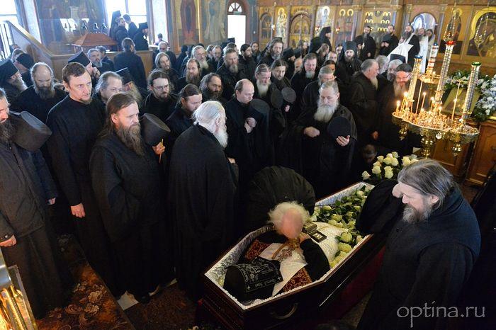 The brother's panikhida for Archimandrite Benedict, January 23, 2018
