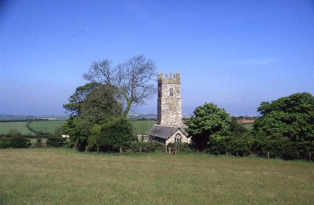 Церковь св. Адвенны в Адвенте, Корнуолл