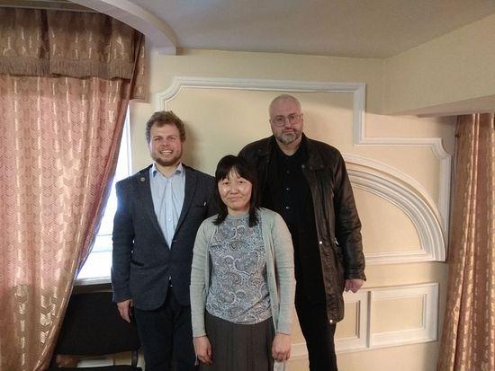 Константин Гордица, Ксения Ким, Виктор Селивановский.