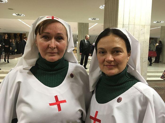 Ольга Леонидовна Бигдаш и Ксения Константиновна Кравченко