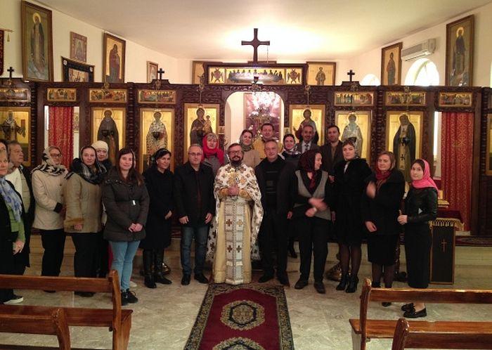 Посол России посетил Представительство Русской Православной Церкви в Дамаске
