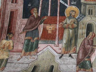 Всенощное бдение в Сретенском монастыре накануне Недели о мытаре и фарисее