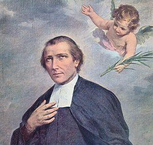 Католический священник Соломон Леклерк, не присягнувший новым властям и требовавший от французов сохранять до конца верность Богу и своему королю, один из многих клириков, погибших от рук французских революционеров в 1792 г.