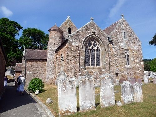 St. Branwalader's Church at St. Brelade, Jersey, Channel Islands