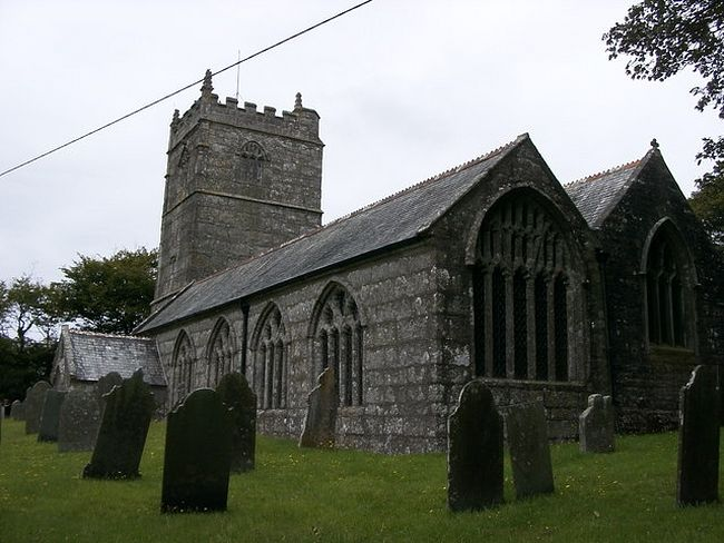 St. Branwalader's Church in St. Breward, Cornwall