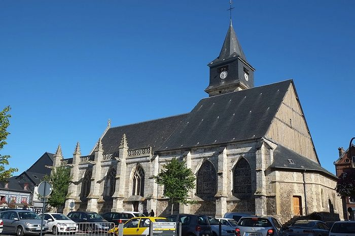 St. Helier's Church in Beuzeville, Normandy