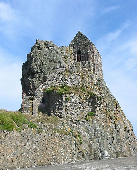 St. Helier's hermitage near Jersey, Channel Islands